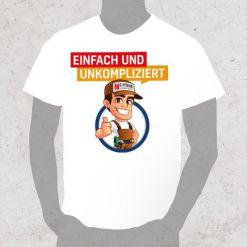 T-Shirts mit Firmenlogo bedruckt